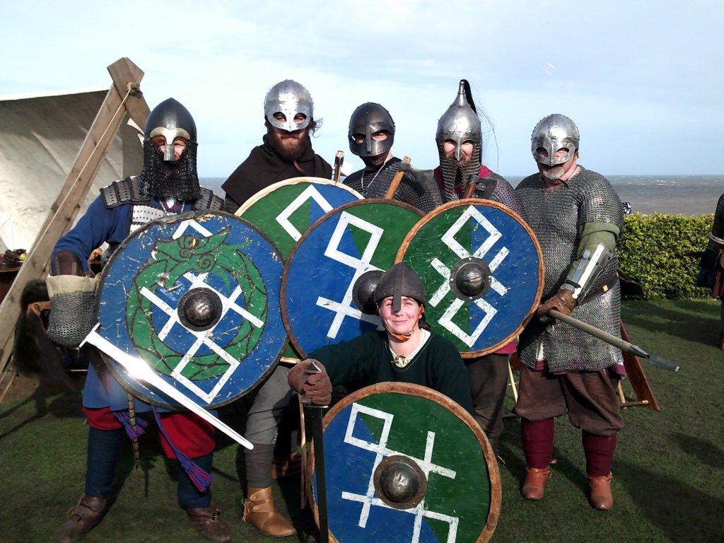 Odins Aett Vikings. Sheringham Viking Festival 2020