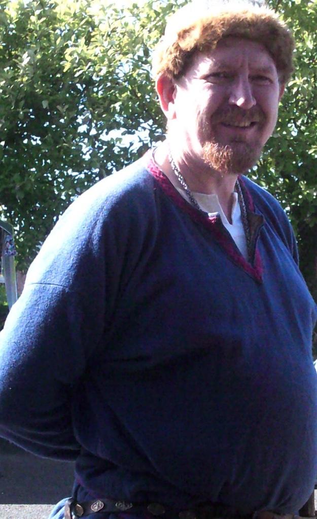 Jarl Ragnar from Odin's Aett Viking Reenactment at Iceni Meadery Peterborough September 2020