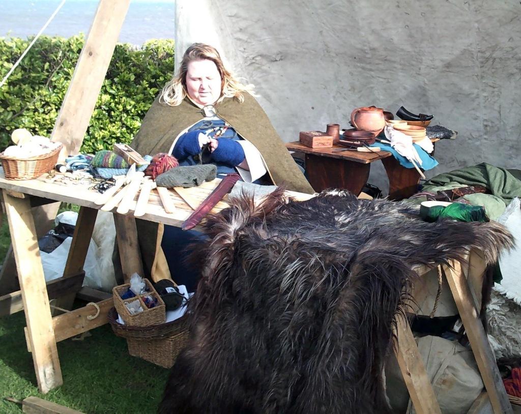 Odins Aett Viking Reenactment Living History ar Sheringham February 2020